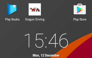 Put a Dragon Driving shortcut on your Phone
